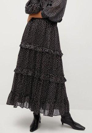 DOMI - Áčková sukně - schwarz