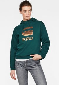 G-Star - GRAPHIC LYNAZ HOODED - Hoodie - green - 0