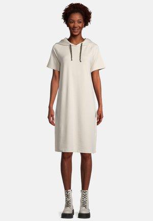 MIT KAPUZE - Day dress - beige