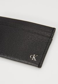 Calvin Klein Jeans - MONOGRAM TEXTURE CARDCASE - Wallet - black - 2