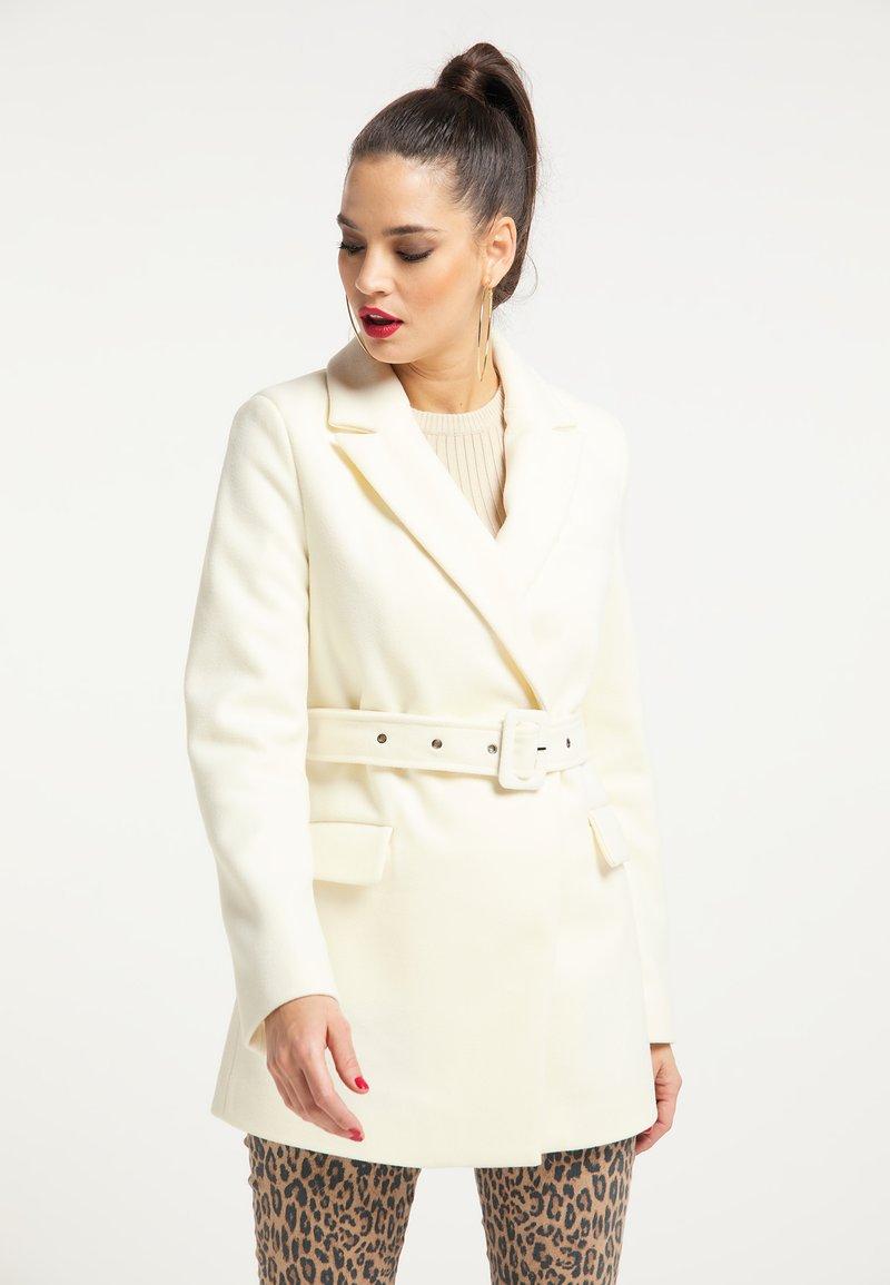 faina - Short coat - wollweiss