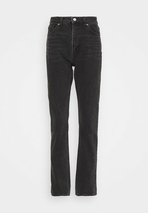 MOLUNA  - Jeansy Straight Leg - black dark