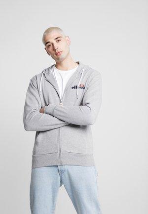 BRIERO - veste en sweat zippée - grey marl