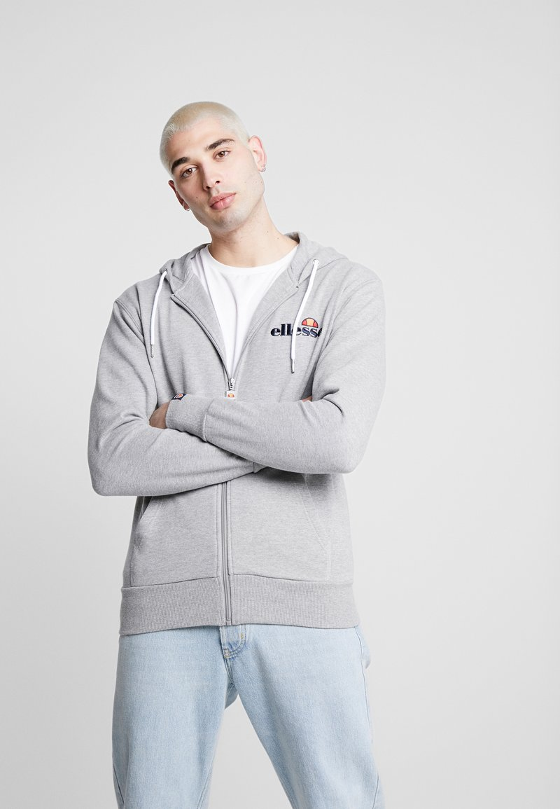 Ellesse - BRIERO - Zip-up hoodie - grey marl