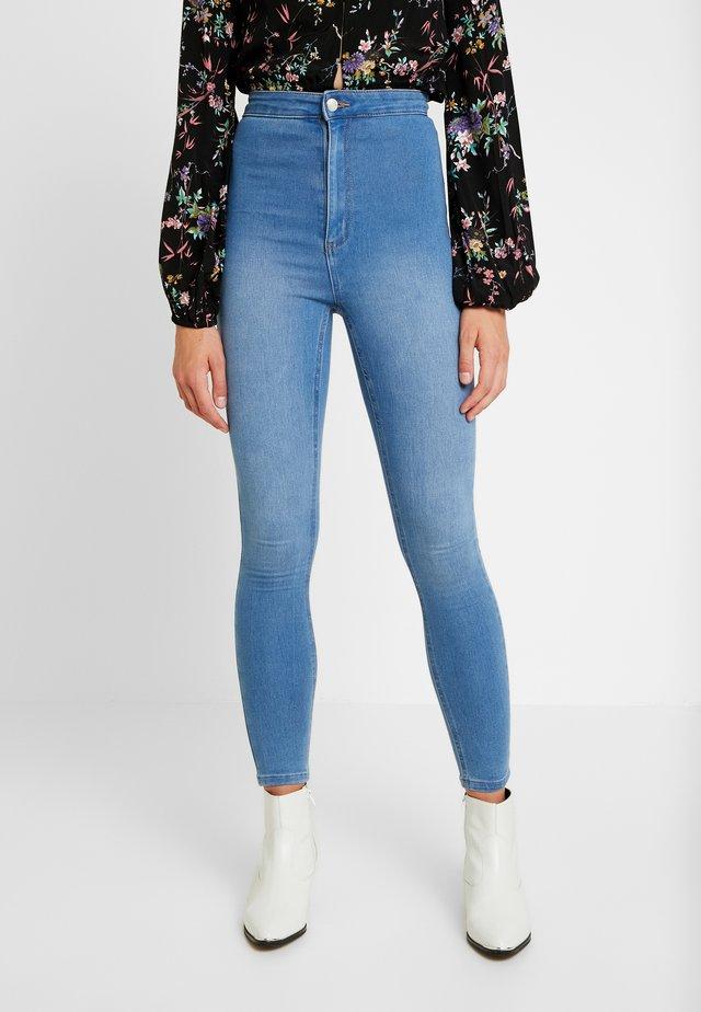 ULTRA HIGH SUPER STRETCH - Jeans Skinny Fit - bells blue