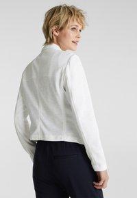 Esprit - KNIT BLAZER - Blazer - white - 2