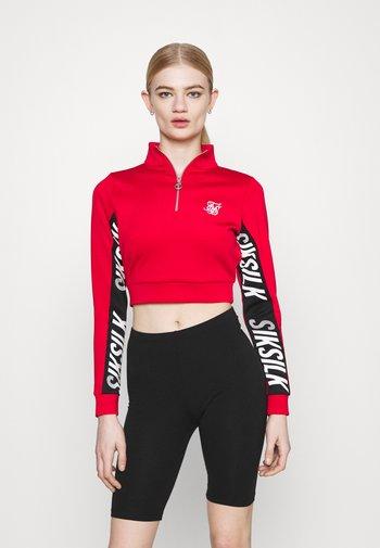 CHASER TRACK - Sweatshirt - red