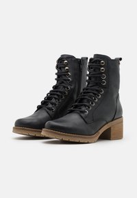 mtng - CASIO - Šněrovací kotníkové boty - black - 2