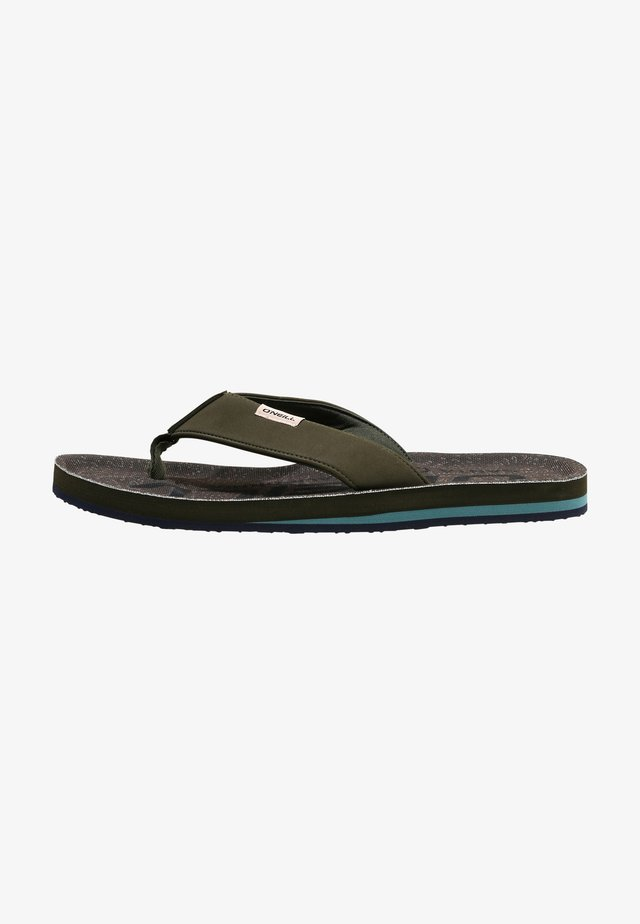 CHAD - Teensandalen - blue with green