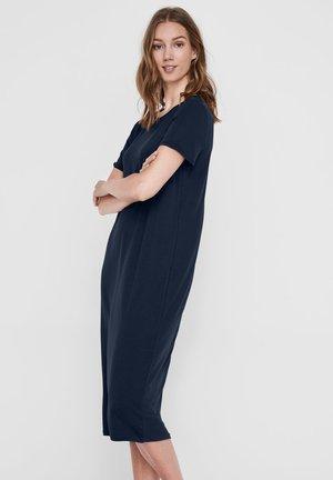 REGULAR FIT - Jersey dress - navy blazer