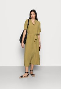Esprit Collection - DRESS - Maxi dress - olive - 1