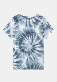 Abercrombie & Fitch - TECH CORE PATTE - Print T-shirt - blue/white - 1