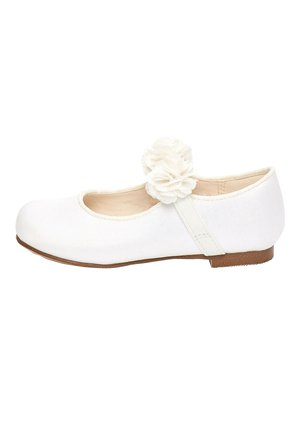 IVORY OCCASION CORSAGE MARY JANES (YOUNGER) - Ballet pumps - white