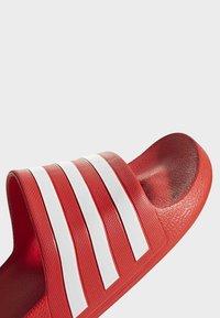 adidas Performance - ADILETTE AQUA SLIDES - Badesandale - red - 7