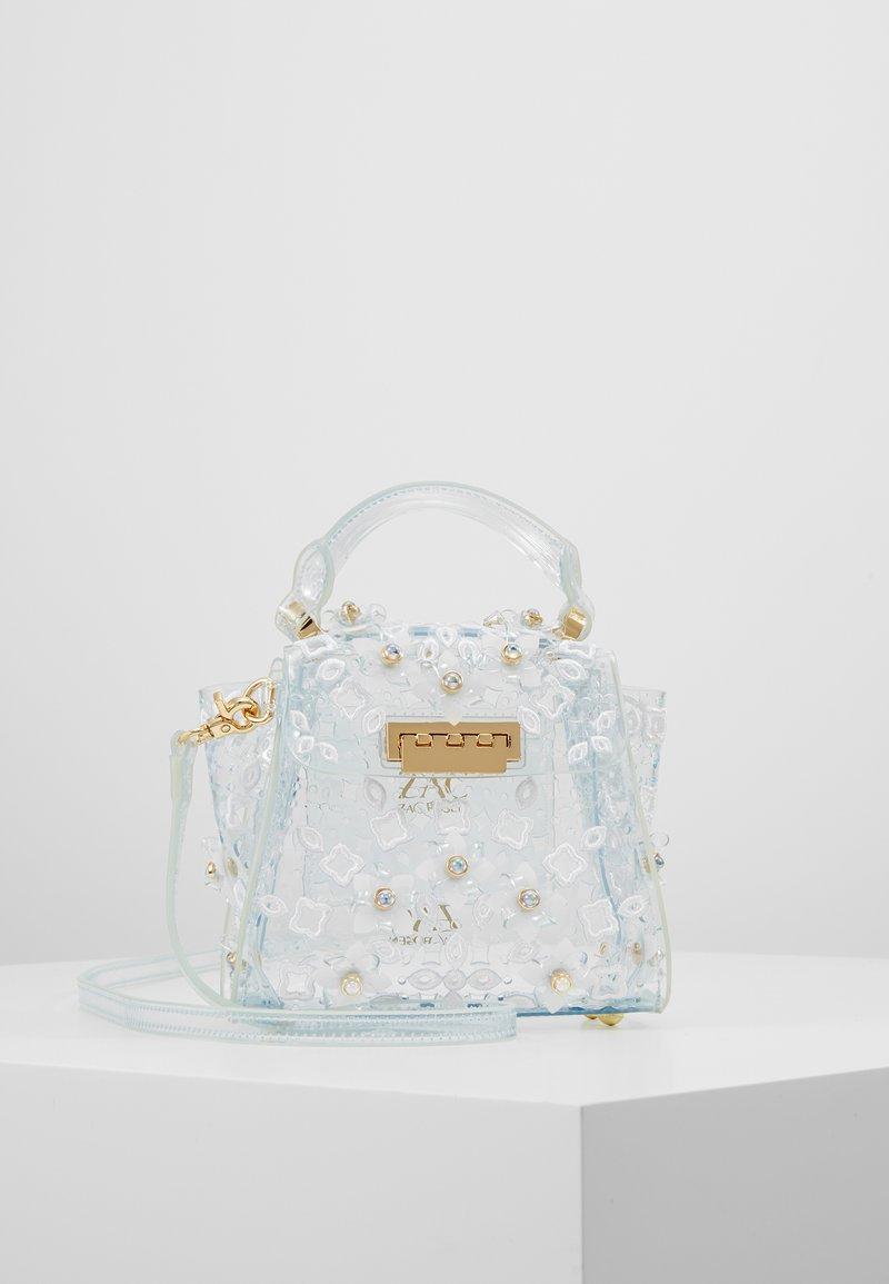 ZAC Zac Posen - EARTHA MINI TOP HANDLE  - Handtas - clear