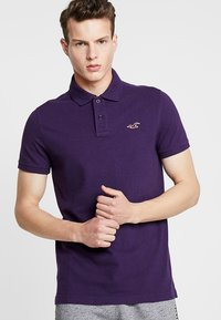Hollister Co. - HERITAGE - Polo - berry - 0