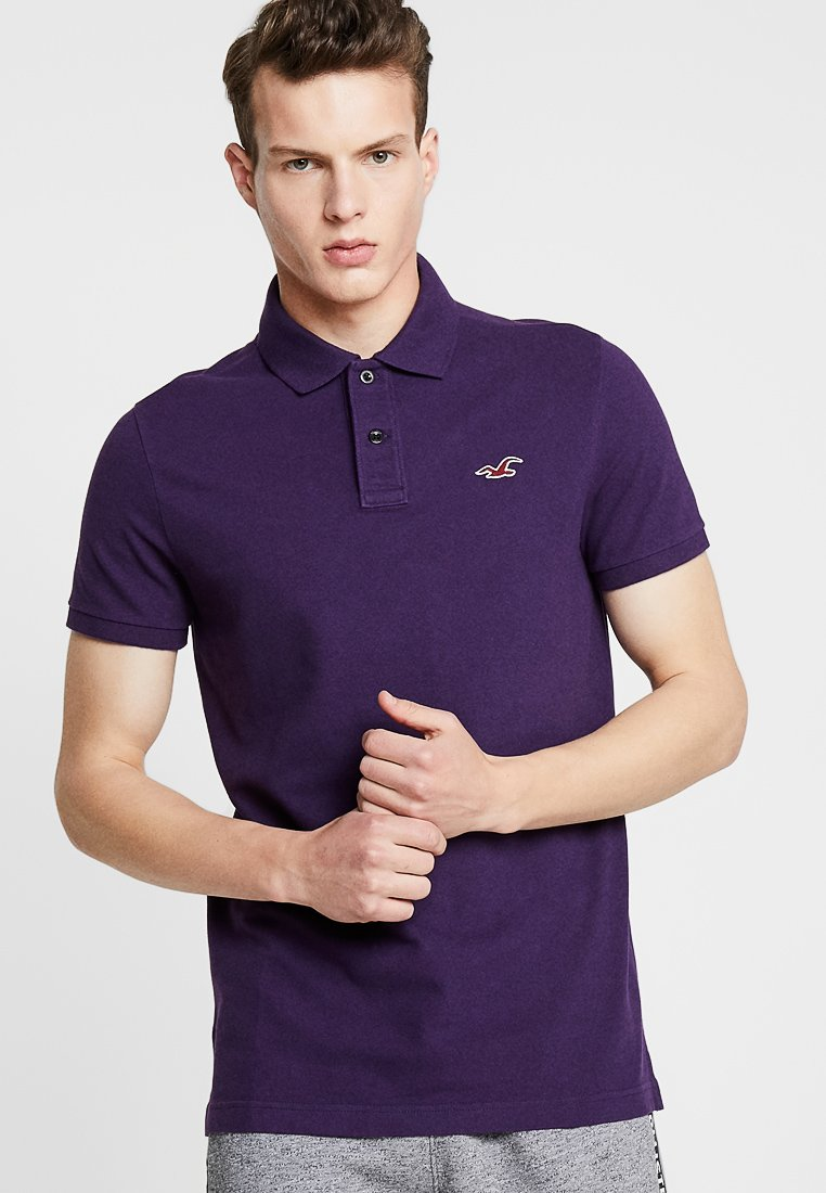 Hollister Co. - HERITAGE - Polo - berry