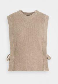 Bruuns Bazaar - SIMONA ZANEA  - Jumper - roasted grey khaki - 0