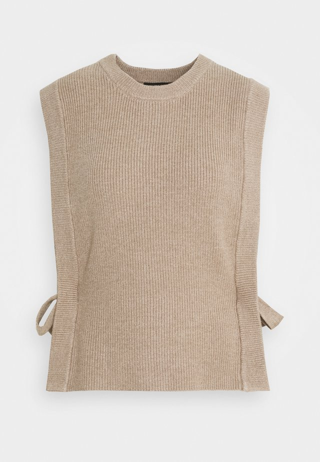 SIMONA ZANEA  - Strickpullover - roasted grey khaki