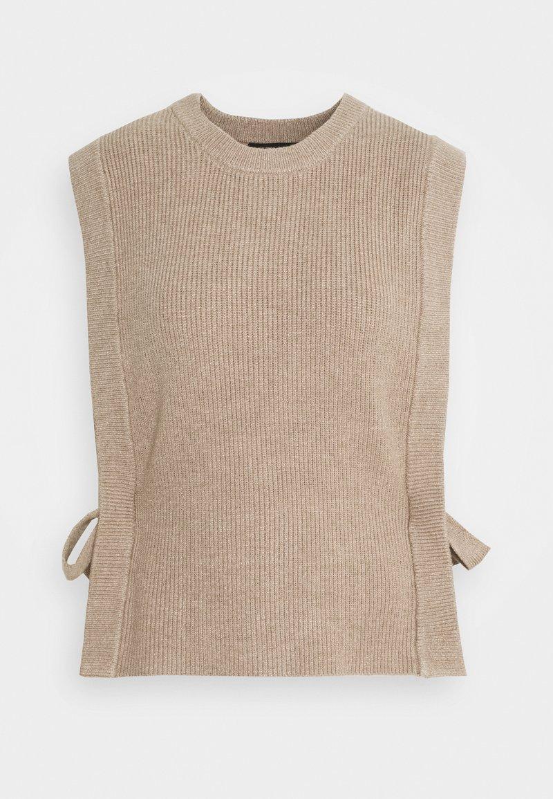 Bruuns Bazaar - SIMONA ZANEA  - Jumper - roasted grey khaki