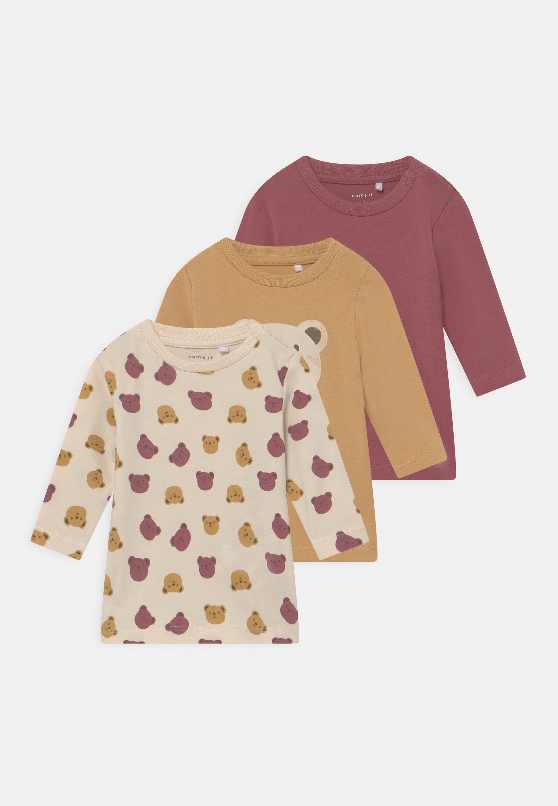 Kids NBFLISSY 3 PACK - Long sleeved top