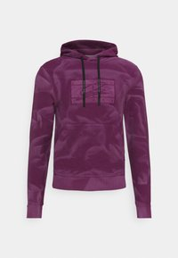 LEWIS HAMILTON UNISEX GMD FLAG HOODY - Hoodie - rich mulberry