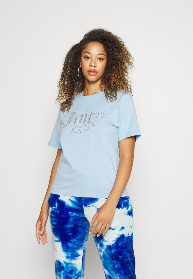 JUICY NUMERAL - T-shirt print - powder blue