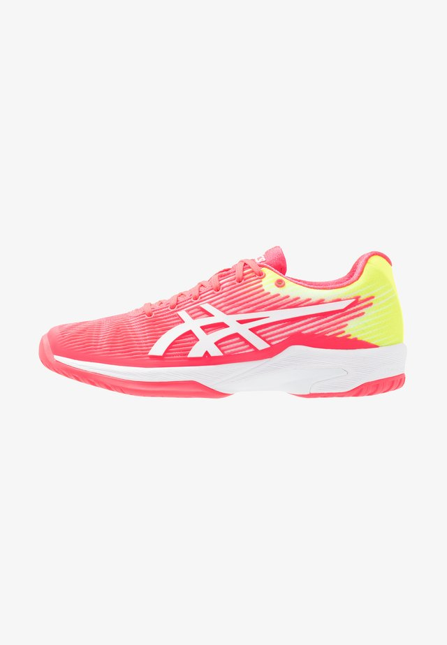 SOLUTION SPEED - Allcourt tennissko - laser pink/white