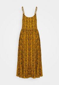 Noisy May Petite - NMBEAGLE CALF DRESS  - Vestido informal - yellow - 1