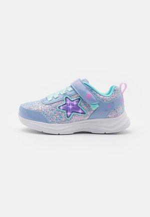 GLIMMER KICKS - Sneaker low - lavender rock glitter/aqua