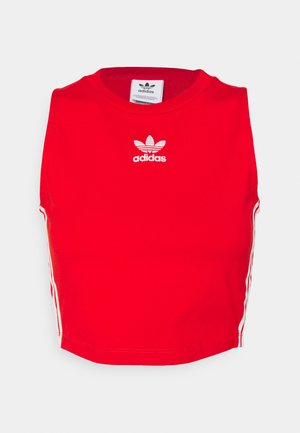 ADICOLOR FITTED - Top - red