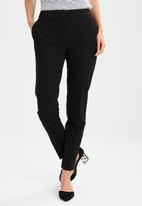 comma - Stoffhose - black - 0