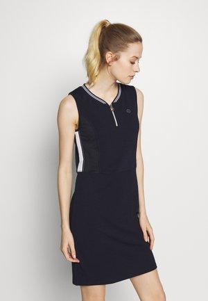 HONNILA - Jersey dress - dark blue