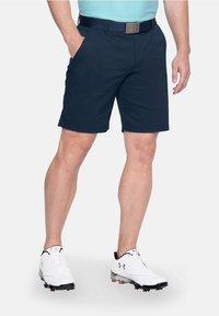 Under Armour - Sports shorts - blue/dark grey - 0