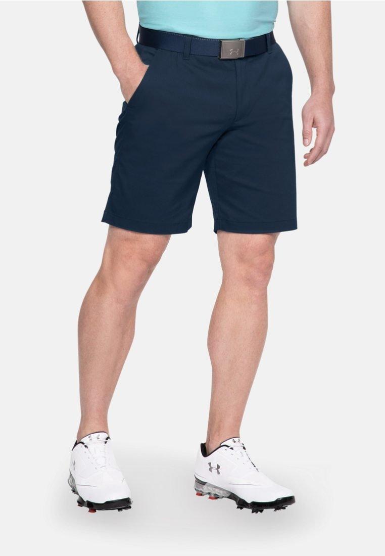Under Armour - Sports shorts - blue/dark grey