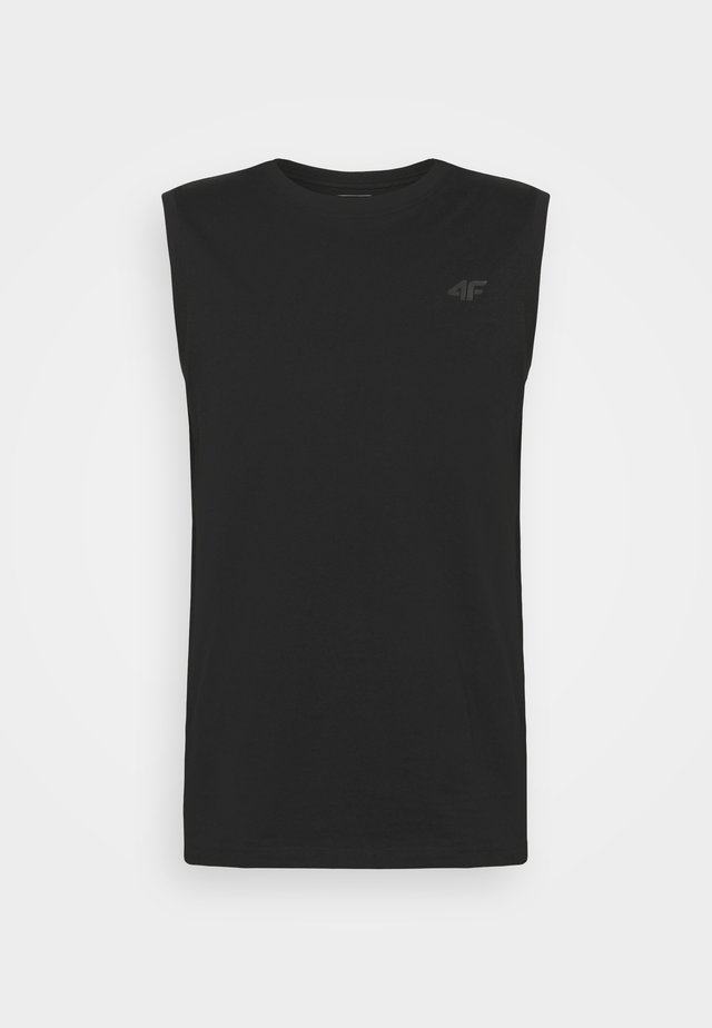 Men's sleeveless top - Top - deep dark