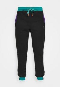 STAPLE PIGEON - TRICOLOR PANT UNISEX  - Pantaloni sportivi - black - 4