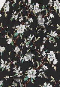 Vila - VILANA DITSY FLOUNCE WRAP DRESS - Jurk - black - 5