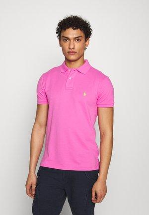SLIM FIT MESH POLO SHIRT - Polo shirt - maui pink