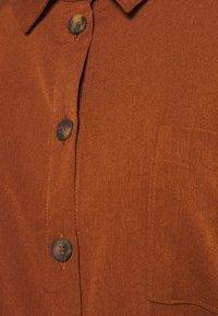 ONLY - ONLHANNOVER SHIRT DRESS - Skjortekjole - tortoise shell - 2