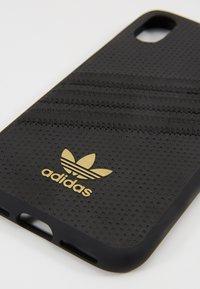 adidas Originals - MOULDED CASE FOR IPHONE X/XS - Phone case - black - 2