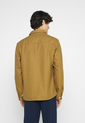 SLHLOOSETROY - Shirt - dull gold
