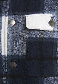Casual Friday - JUSTAN CHECKED OVERSHIRT JACKET - Summer jacket - navy blazer - 2