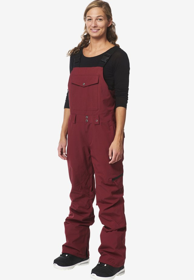 LEELA - Snow pants - red