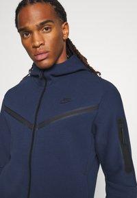 Nike Sportswear - Zip-up sweatshirt - midnight navy/black - 4