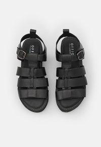 Office - GEEK SHOE OPEN TOE - Platform sandals - black - 5