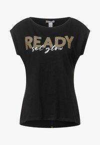 Street One - Print T-shirt - schwarz - 2