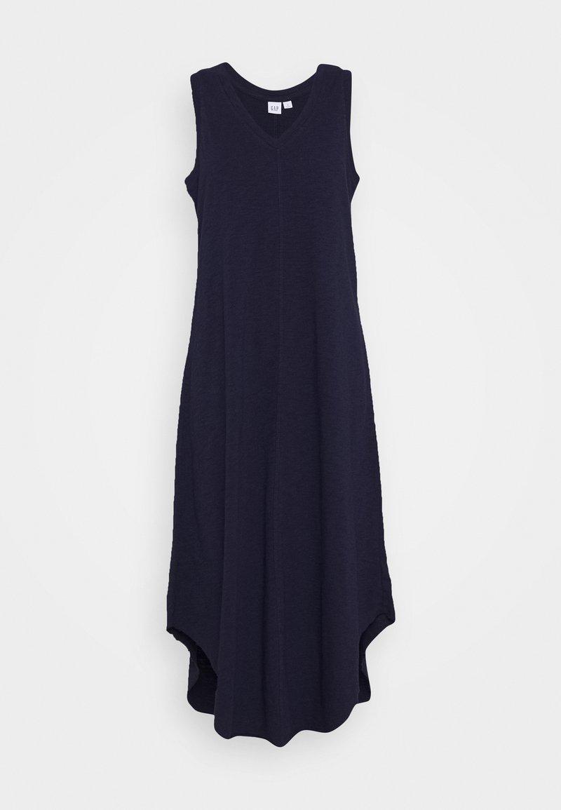 GAP - TANK MIDI DRESS - Jersey dress - navy uniform