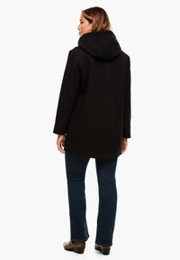 Triangle - MIT REISSVERSCHLUSS-DETAIL - Classic coat - black - 2
