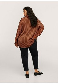 Mango - Button-down blouse - marrón - 2